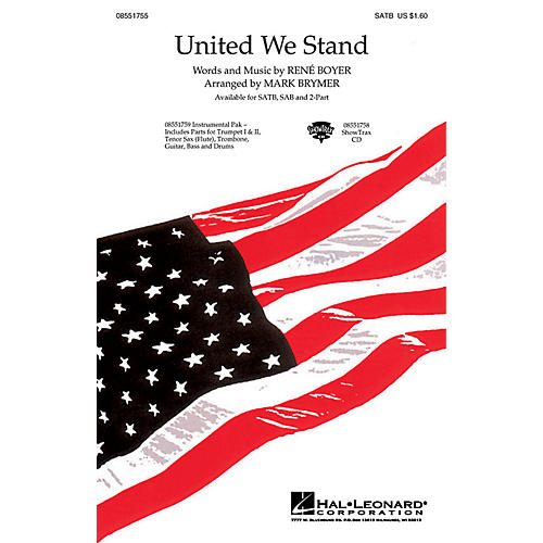 Hal Leonard United We Stand ShowTrax CD Arranged by Mark Brymer