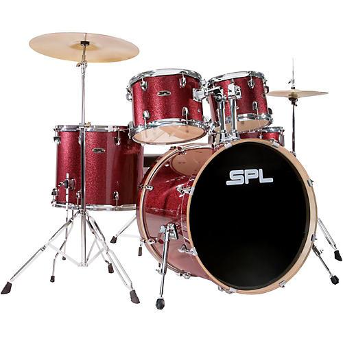 sound percussion labs unity birch series 5 piece complete drum set red mist musician 39 s friend. Black Bedroom Furniture Sets. Home Design Ideas