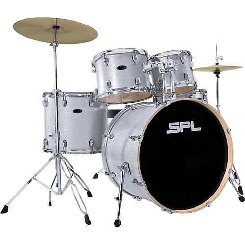 sound percussion labs unity birch series 5 piece complete drum set silver mist musician 39 s friend. Black Bedroom Furniture Sets. Home Design Ideas