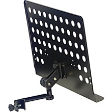 Open Box Stagg Universal Clamp-On Music Stand