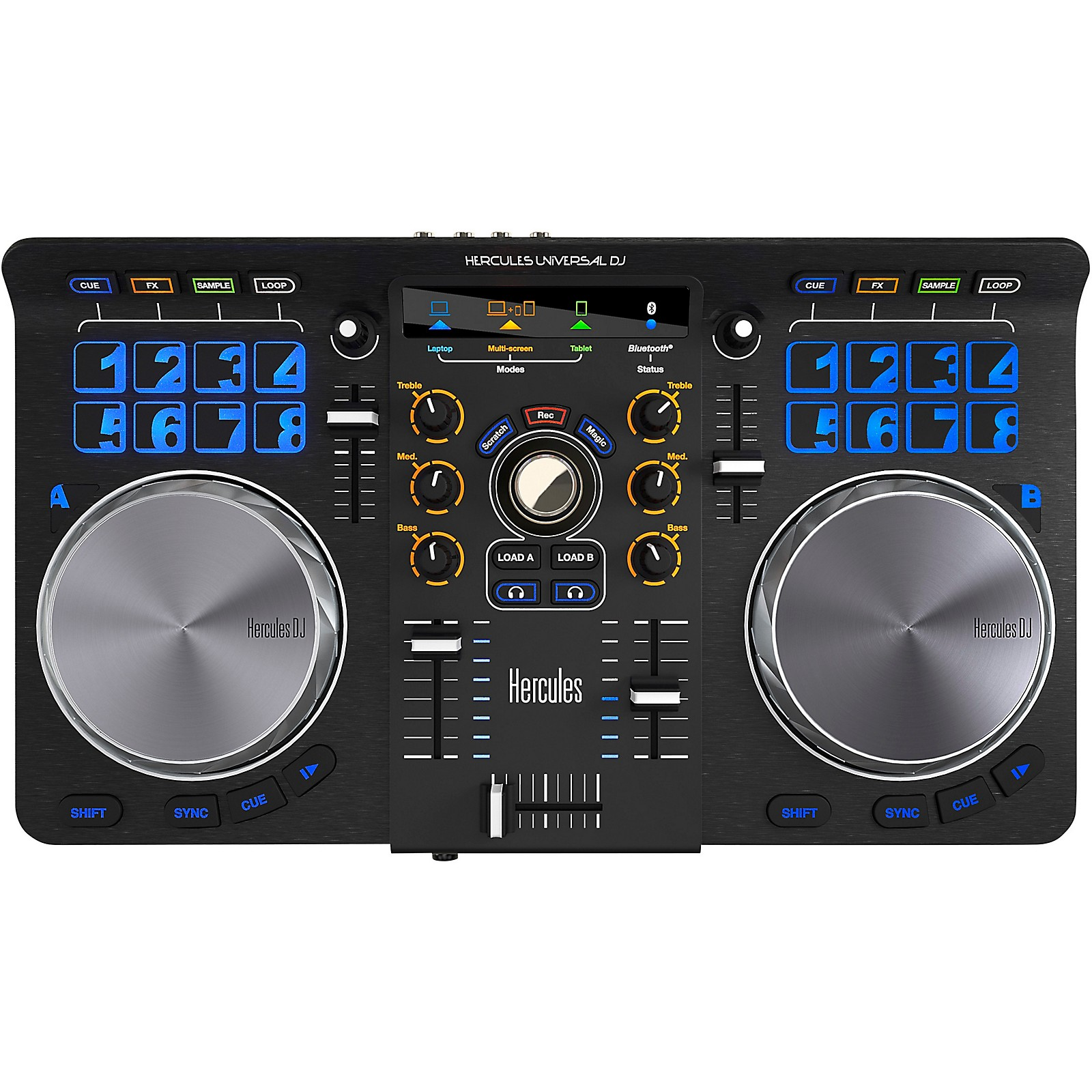 Hercules DJ Universal DJ Compact Controller with Bluetooth