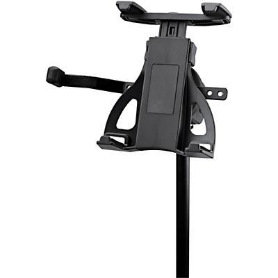 K&M Universal Tablet Holder-Mic Stand Mnt.