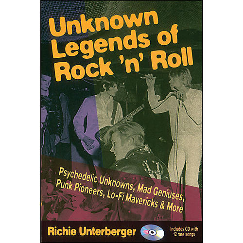 Backbeat Books Unknown Legends Of Rock 'N' Roll Book/CD