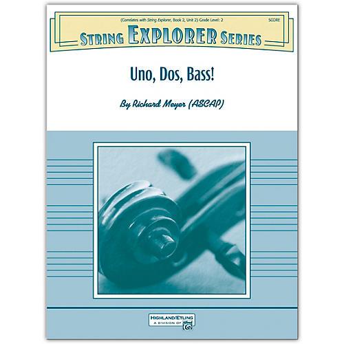 Alfred Uno, Dos, Bass! Conductor Score 2