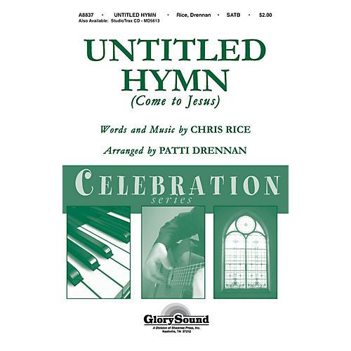 Shawnee Press Untitled Hymn (Shawnee Press Celebration Series) Studiotrax CD by Chris Rice Arranged by Patti Drennan