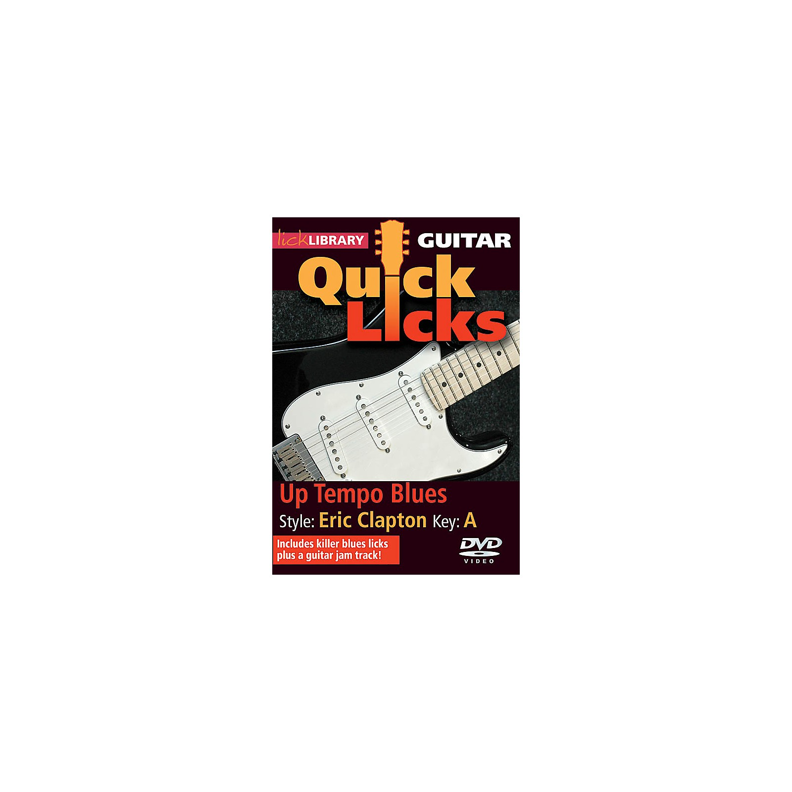 Licklibrary Up Tempo Blues - Quick Licks (Style: Eric Clapton; Key: A) Lick Library Series DVD by Michael Casswell