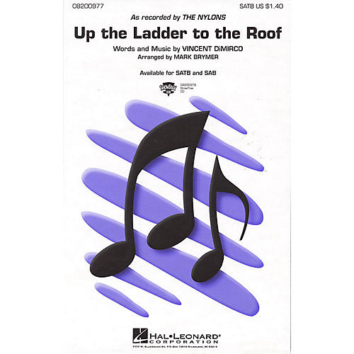Hal Leonard Up the Ladder to the Roof ShowTrax CD by The Nylons Arranged by Mark Brymer