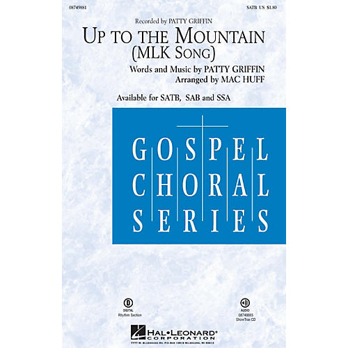 Hal Leonard Up to the Mountain (MLK Song) ShowTrax CD by Kelly Clarkson Arranged by Mac Huff