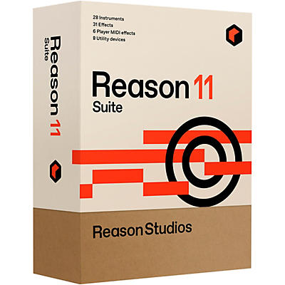 Reason Studios Upgrade to Reason 11 Suite From Reason (Boxed)
