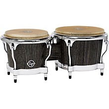 LP Uptown Series Bongo Set - Sculpted Ash with Chrome Hardware