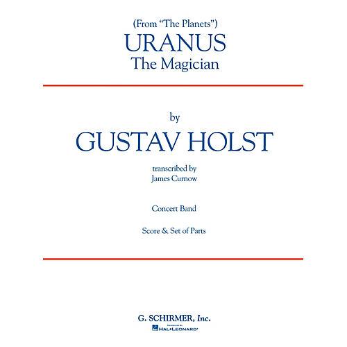 G. Schirmer Uranus (Full Score) Concert Band Level 4-5 Composed by Gustav Holst