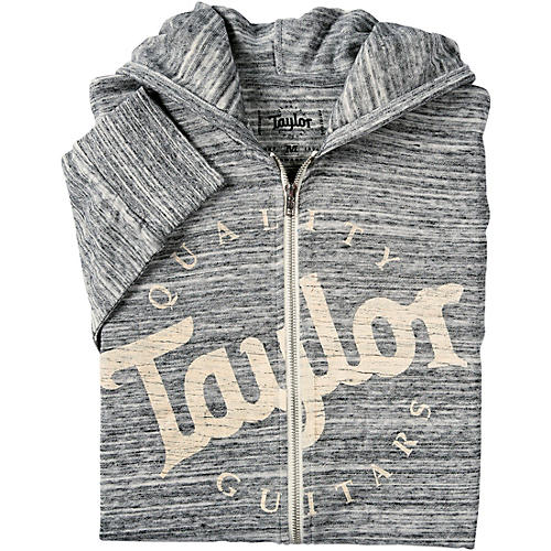 Taylor Urban Zip Hoody XX Large Heather Gray