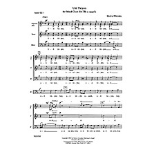 Transcontinental Music Uri Tsiyon (Awake, O Zion) SATB composed by Moshe Wilensky