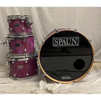Spaun Usa Custom Drum Kit