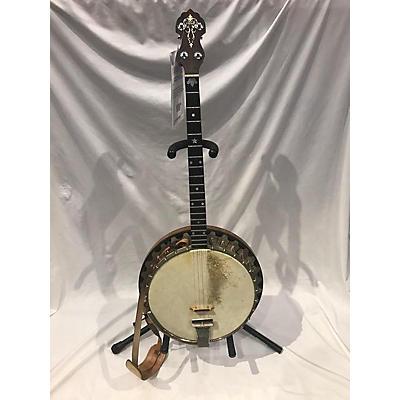 Used 1930s Vegaphone Professional Banjo Natural Banjo