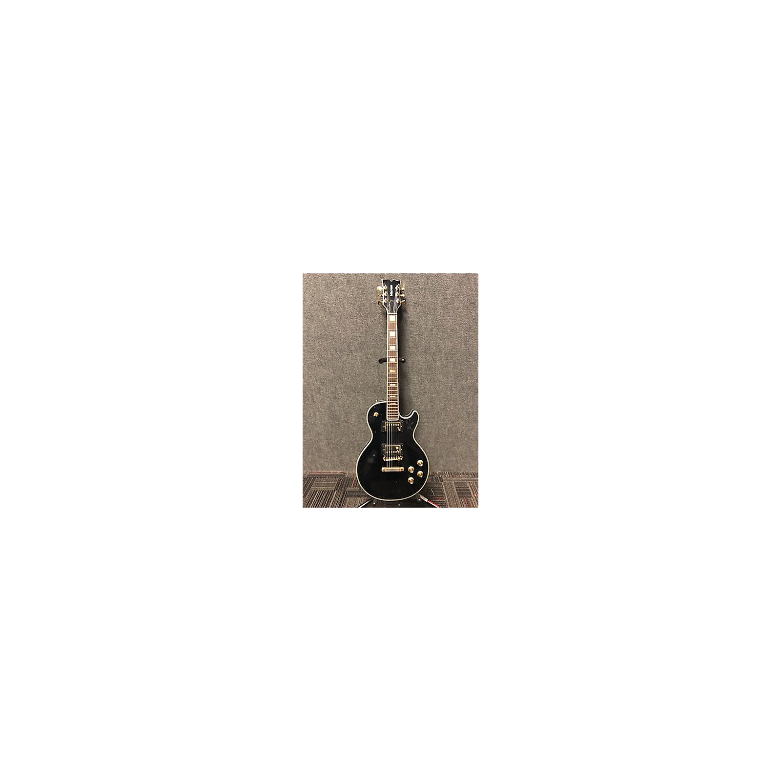 In Store Used Used 1970s VOXTON LP-STYLE Black Solid Body Electric Guitar