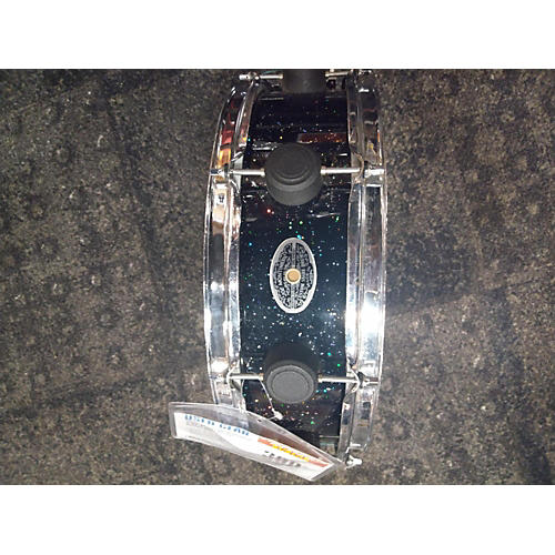 Used 2010s JOE MONTINERI 5.5X15 CUSTOM USA Drum MARDI GRAS BLACK MARDI GRAS BLACK 11