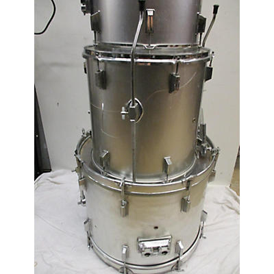 Used 2010s Rockland 6 piece Drums Chrome Silver Drum Kit