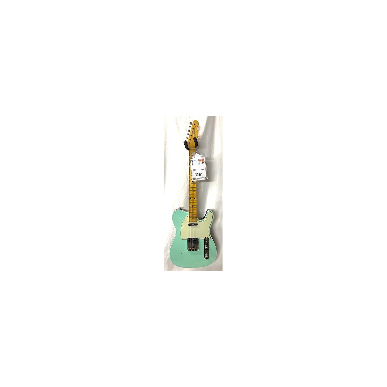 In Store Used Used 2019 Fender Custom Shop XN11927 Seafoam Green Solid Body Electric Guitar