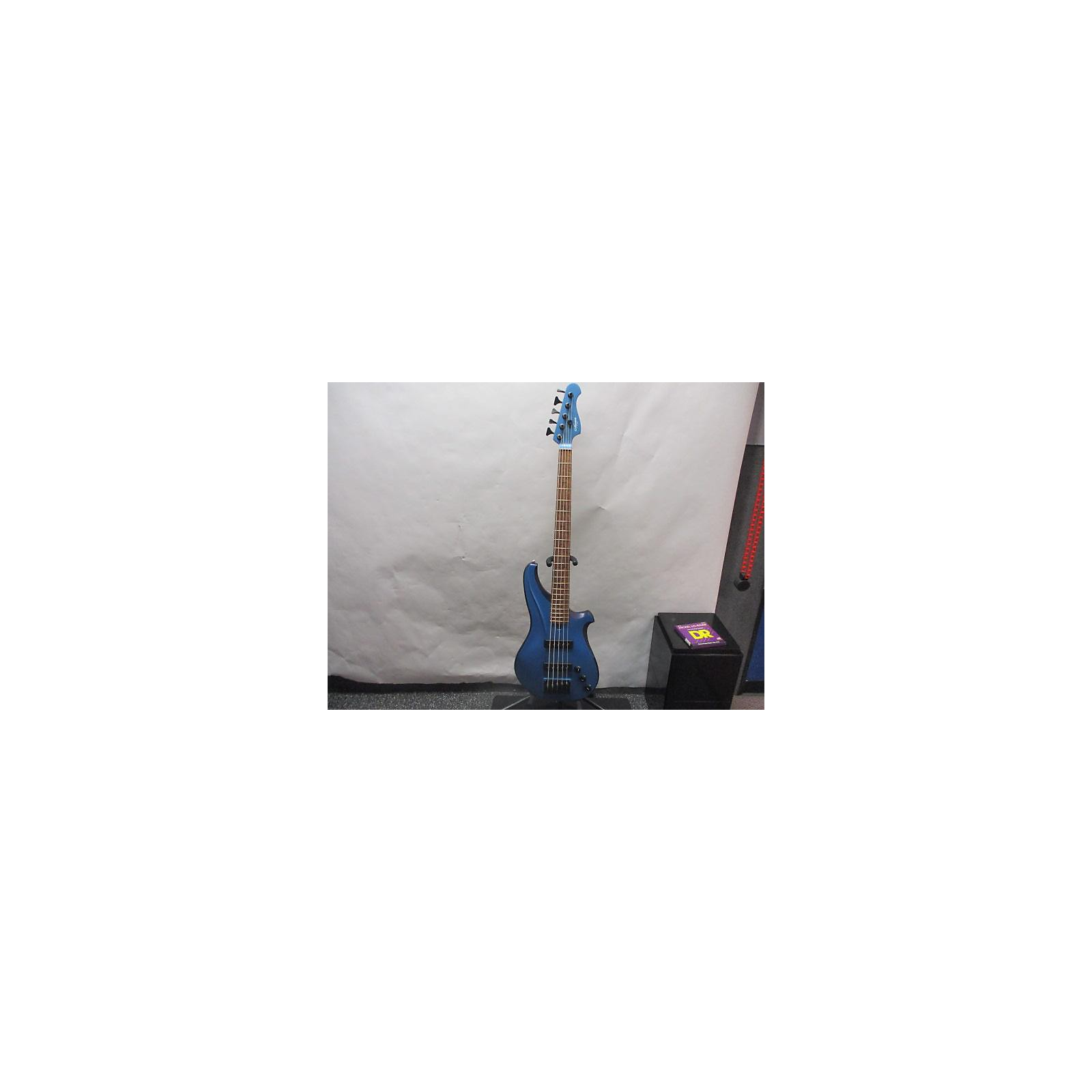 In Store Used Used 2020 Chuck CP Thornton TR5 Lake Placid Blue Electric Bass Guitar