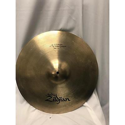 Used 2020s Zildigan 18in Avedis Medium Thin Crash Cymbal