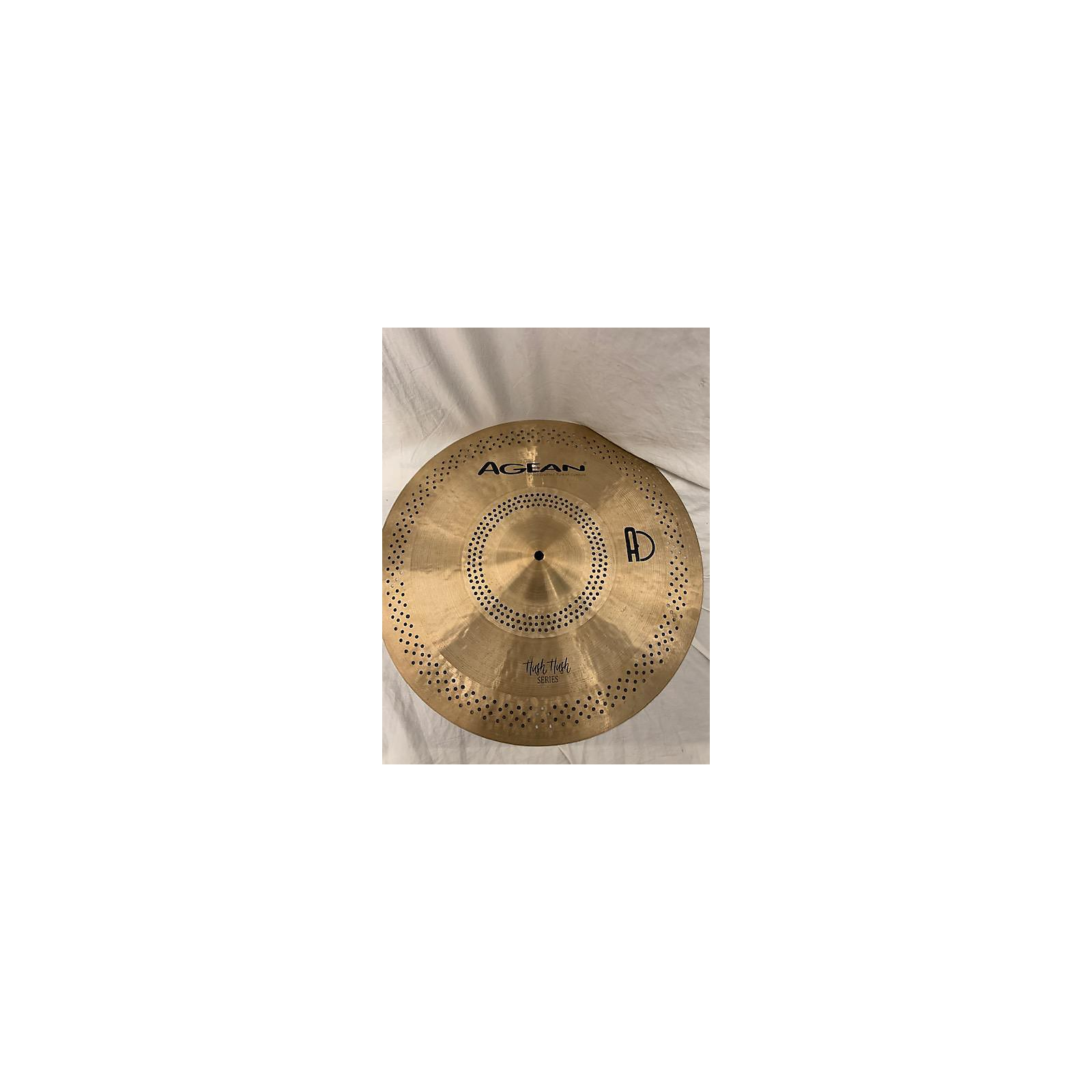 In Store Used Used Agean Hand Cafted Turkish Cymbals 18in Hush Hush Series Cymbal