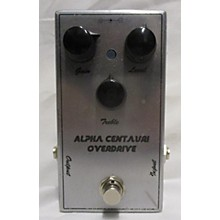 Used Alpha Centauri Overdrive Effect Pedal