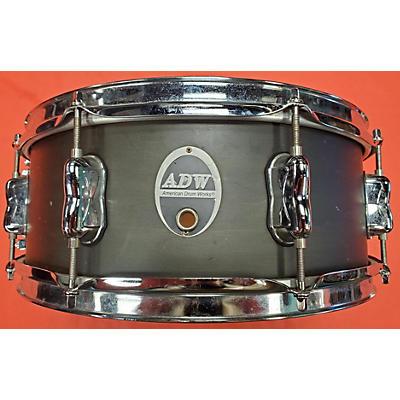 Used American Drum Works 14X5.5 Genaric Drum Satin Black