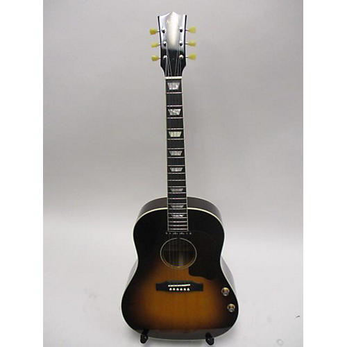 Used Ami Jm-sg160e Sunburst Acoustic Electric Guitar Sunburst
