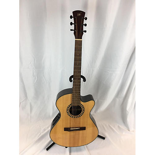 Used Andrew White Cybele112 Natural Acoustic Electric Guitar Natural