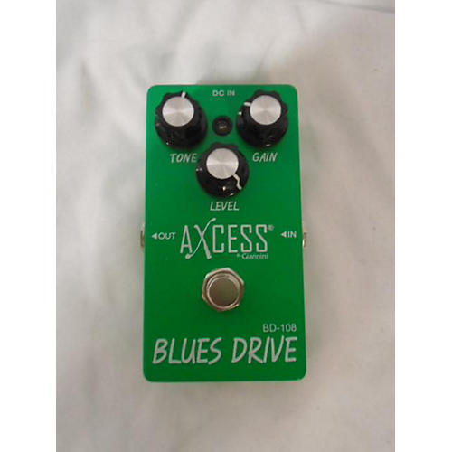 Used Axcess Blues Drive Effect Pedal