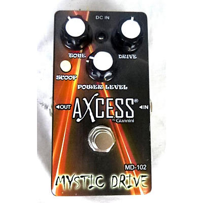 Used Axcess Mystic Drive Effect Pedal