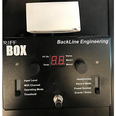 Used BACKLINE ENGINEERING RIFF BOX Pedal