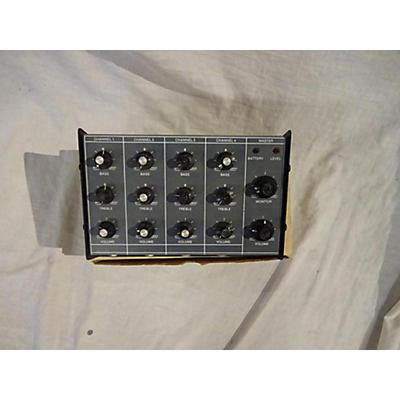 Used BANCUS-BERRY 1334 Powered Mixer