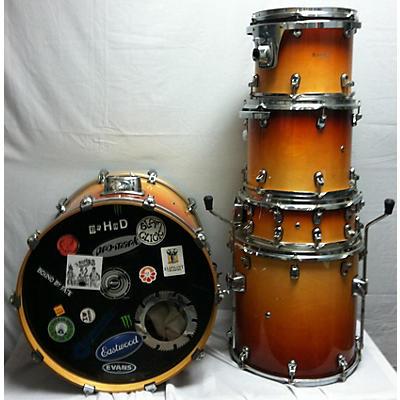 Used Basix 5 piece 5 Piece Drum Kit Sunburst Fade Drum Kit