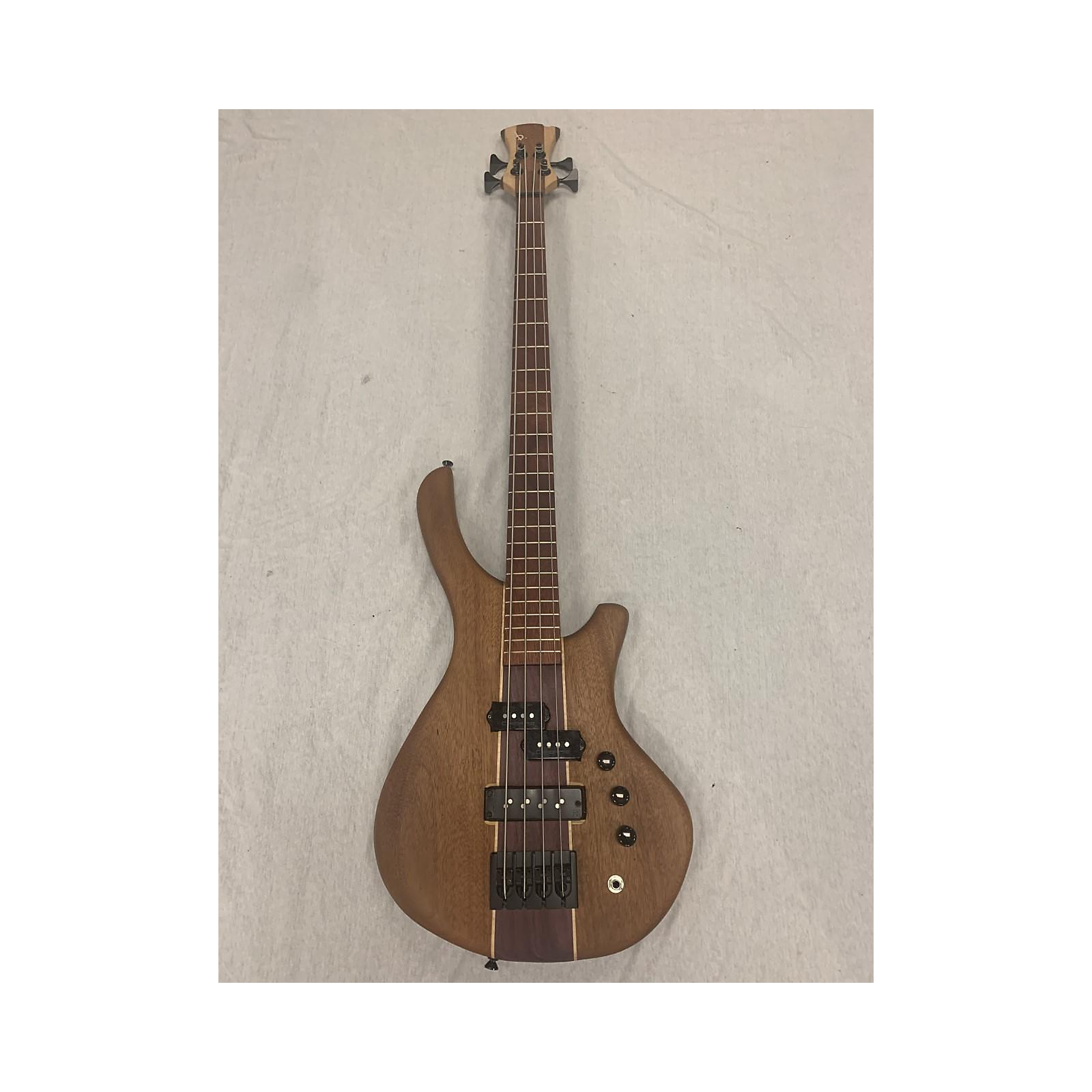In Store Used Used Beardly PJ 4 Mahogany Electric Bass Guitar