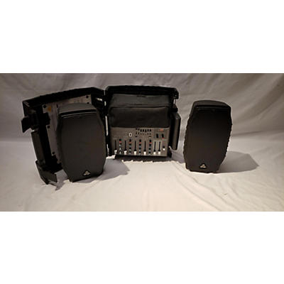 Used Behringerq PPA200 Sound Package