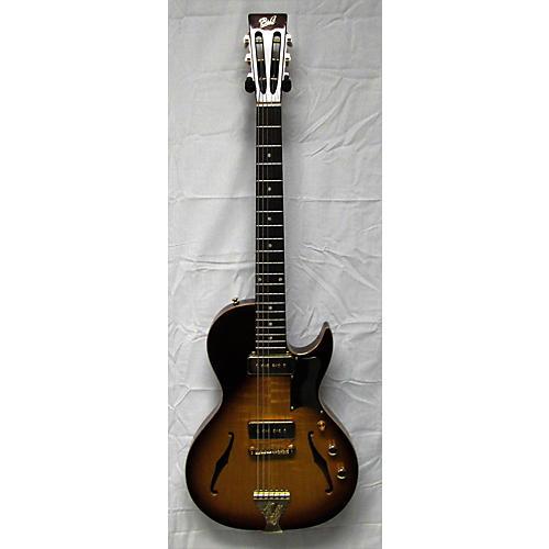 Used B&g Little Sister Sunburst Hollow Body Electric Guitar Sunburst