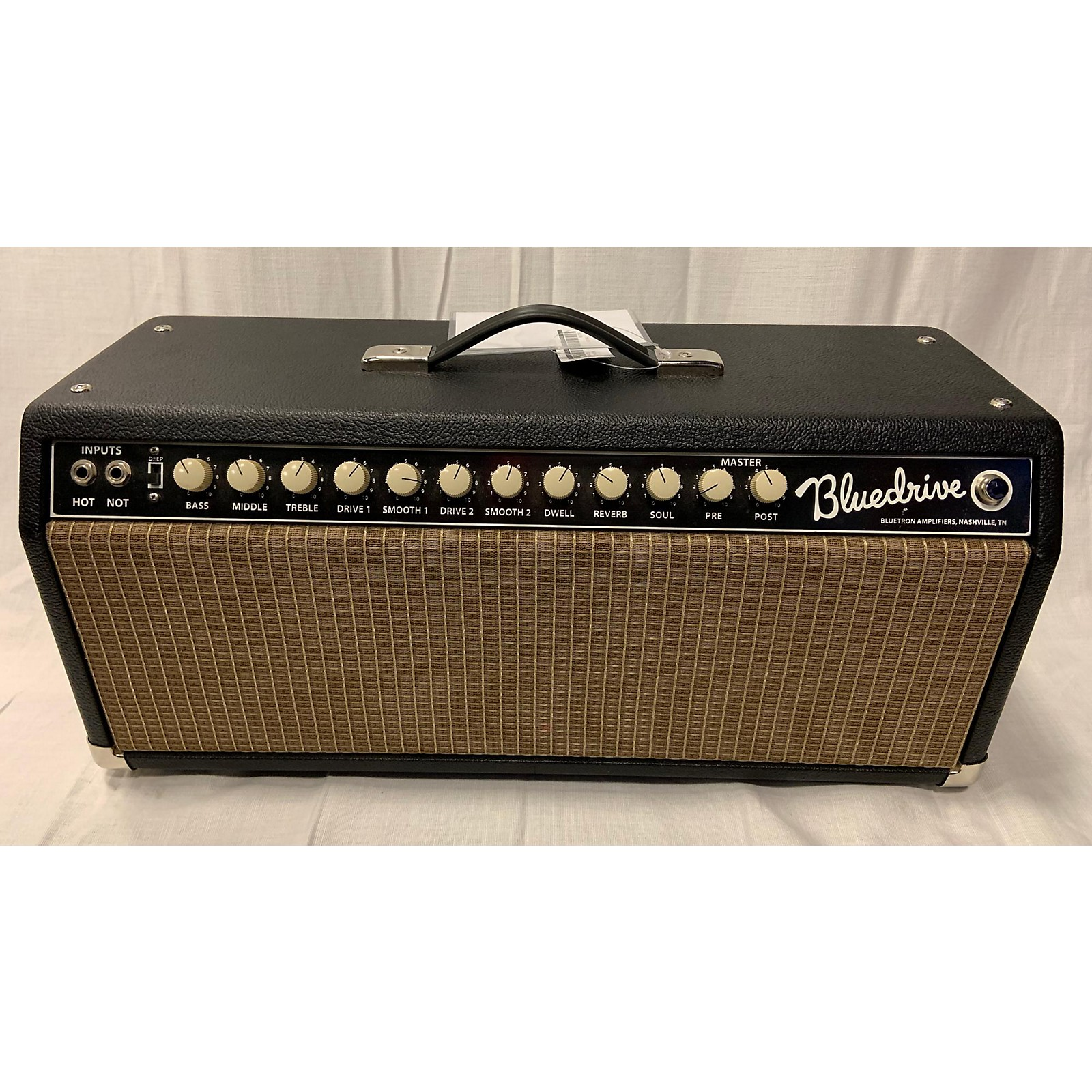 In Store Used Used Bluetron Bluedrive Tube Guitar Amp Head