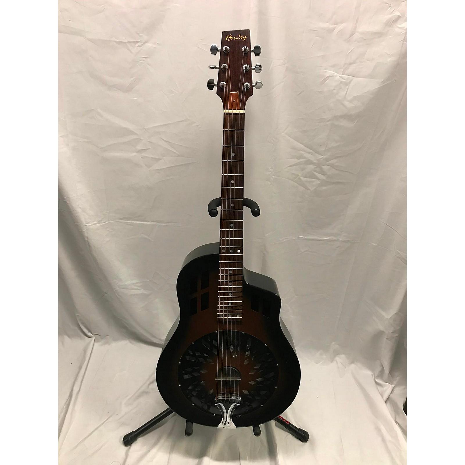 In Store Used Used Briley Resonator 2 Color Sunburst Resonator Guitar