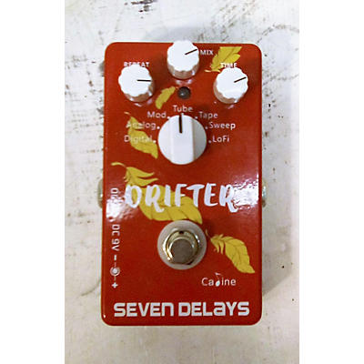 Used CALINE SEVEN DELAYS Effect Pedal