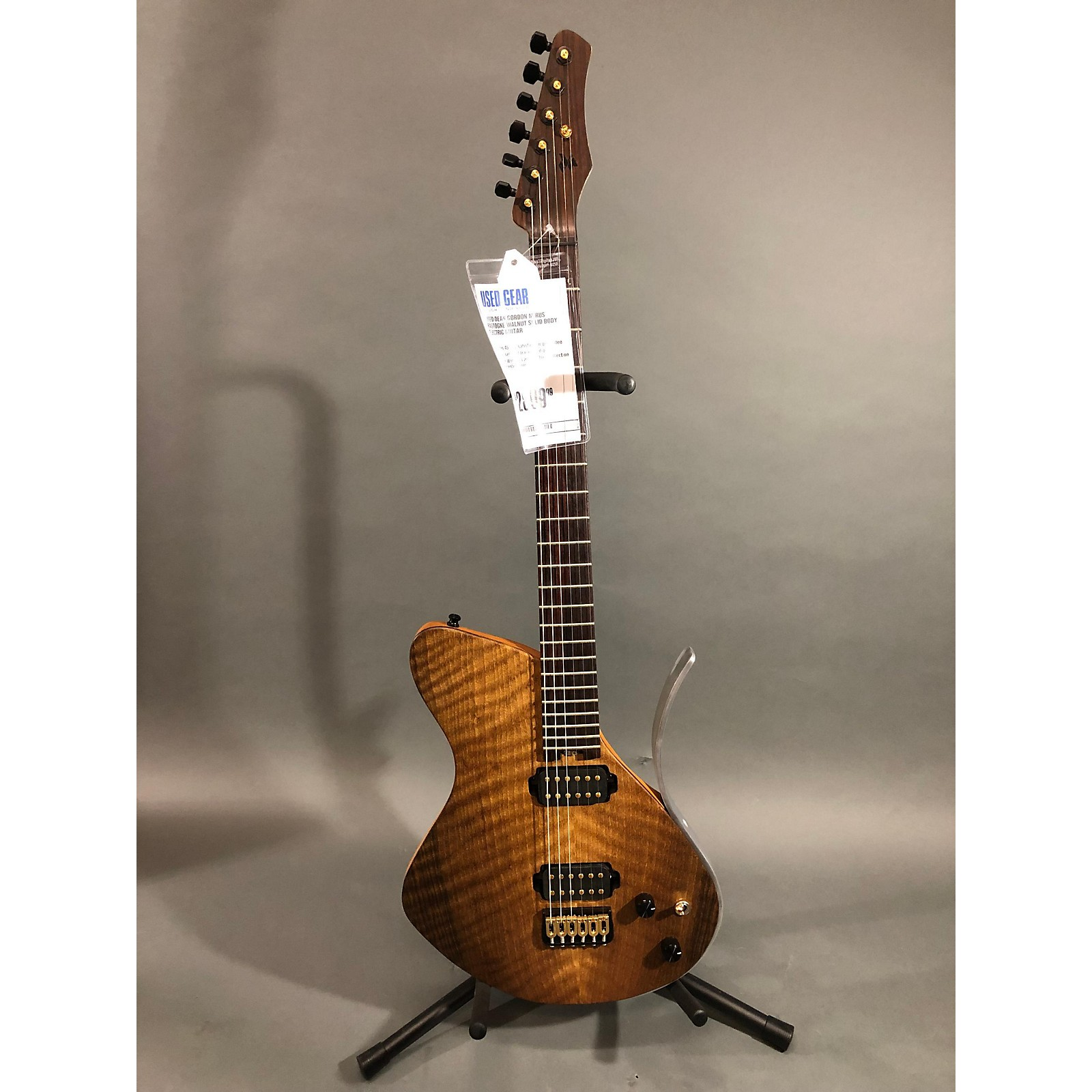 In Store Used Used DEAN GORDON MIRUS BASTOGNE WALNUT Solid Body Electric Guitar