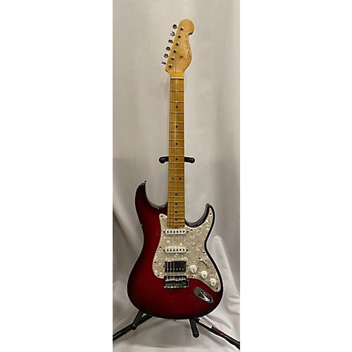 Used Don Grosh Retro Classic Dark Cherry Burst Solid Body Electric Guitar