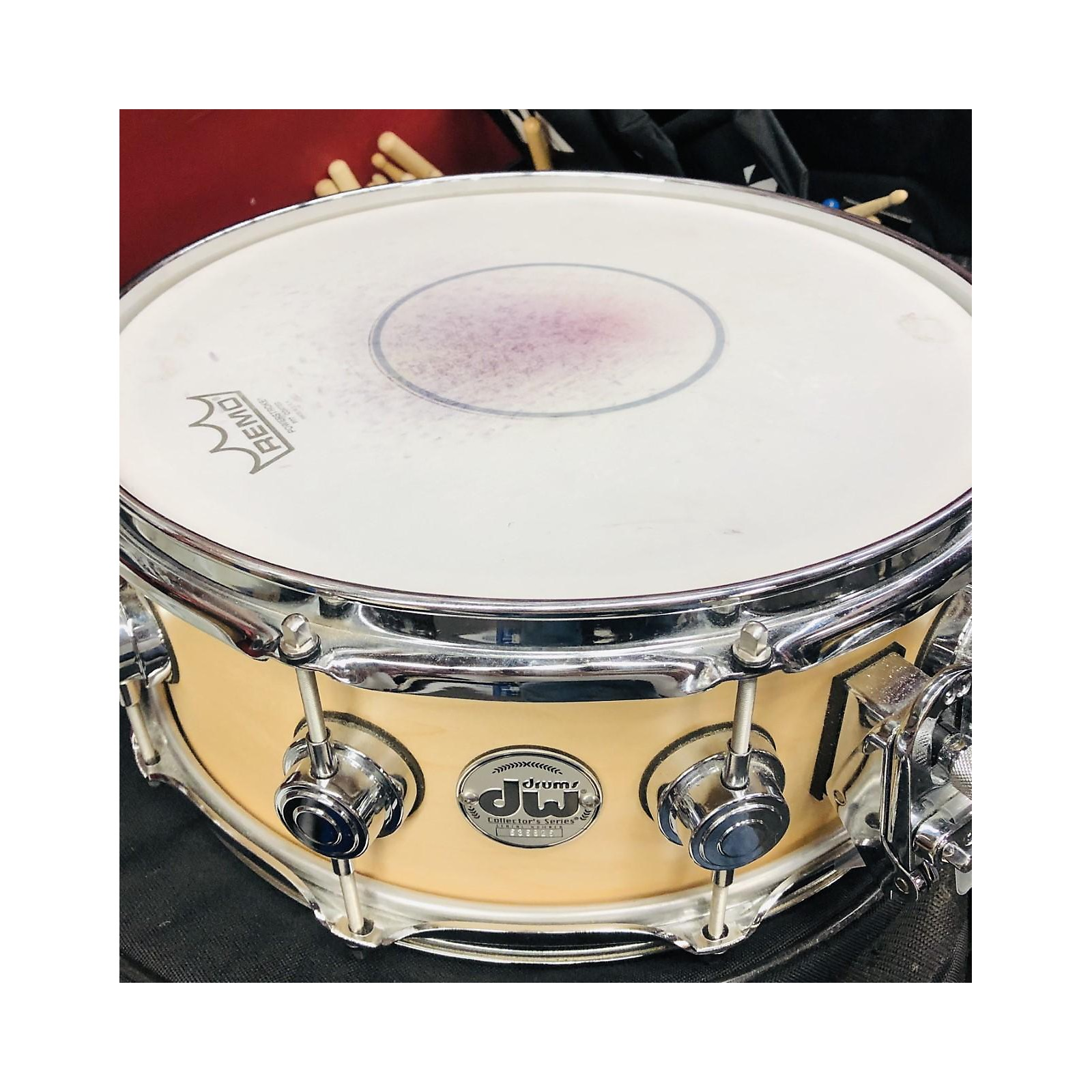 In Store Used Used Dw Collectors Series Snare 14X5.5 Collectors Drum Natural