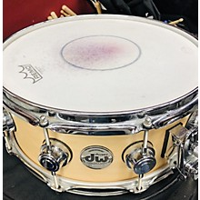 Used Dw Collectors Series Snare 14X5.5 Collectors Drum Natural