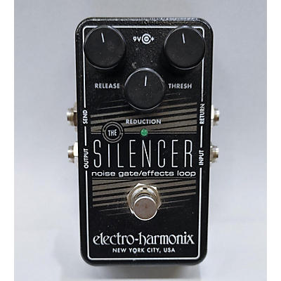 Used ELCTRO HARMONIX THE SILENCER Effect Pedal