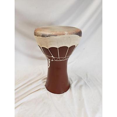 Used Emin Percussion Fish Head Doumbek Hand Drum