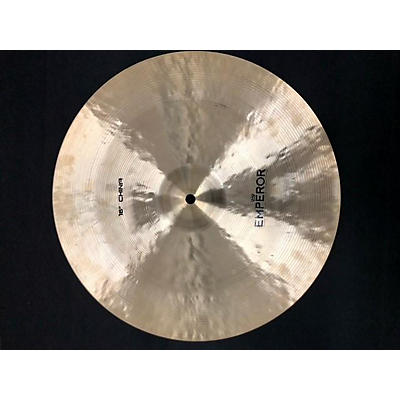 Used Emperor 16in China Traditional Cymbal
