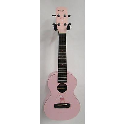 Used Enya EUC-FG1 Pink Ukulele