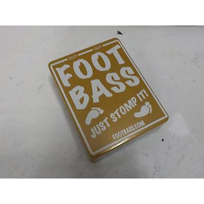 Used FOOTBASS FOOTBASS Pedal